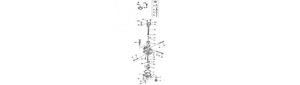 KEIHIN PWK 28 CARBURETOR DIAGRAM